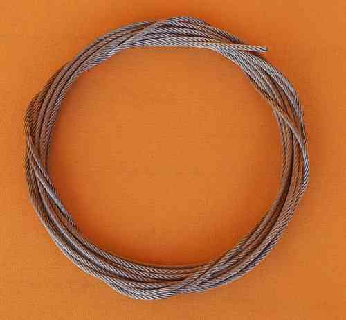 2.5 mm Stainless Steel Wire Rope 7x19
