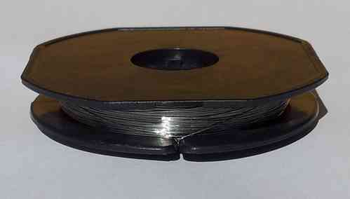 "Titanium Wire-Gr1 0.15mm / 0.006"" / AWG 34"