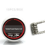 Staggered Clapton Coils