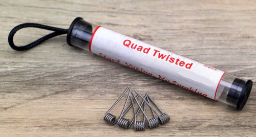 Quad Twisted Wicklungen